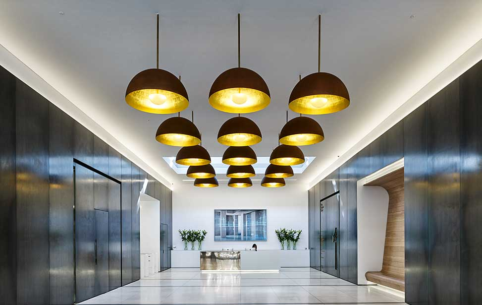 Ufo Lighting Hotel Bloom Led Ceiling Features